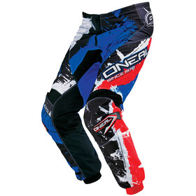 ONeal Element Pants Youth SHOCKER black/blue/red